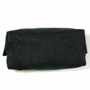 NEW Gucci Monogram Cosmetic Bag Pouch
